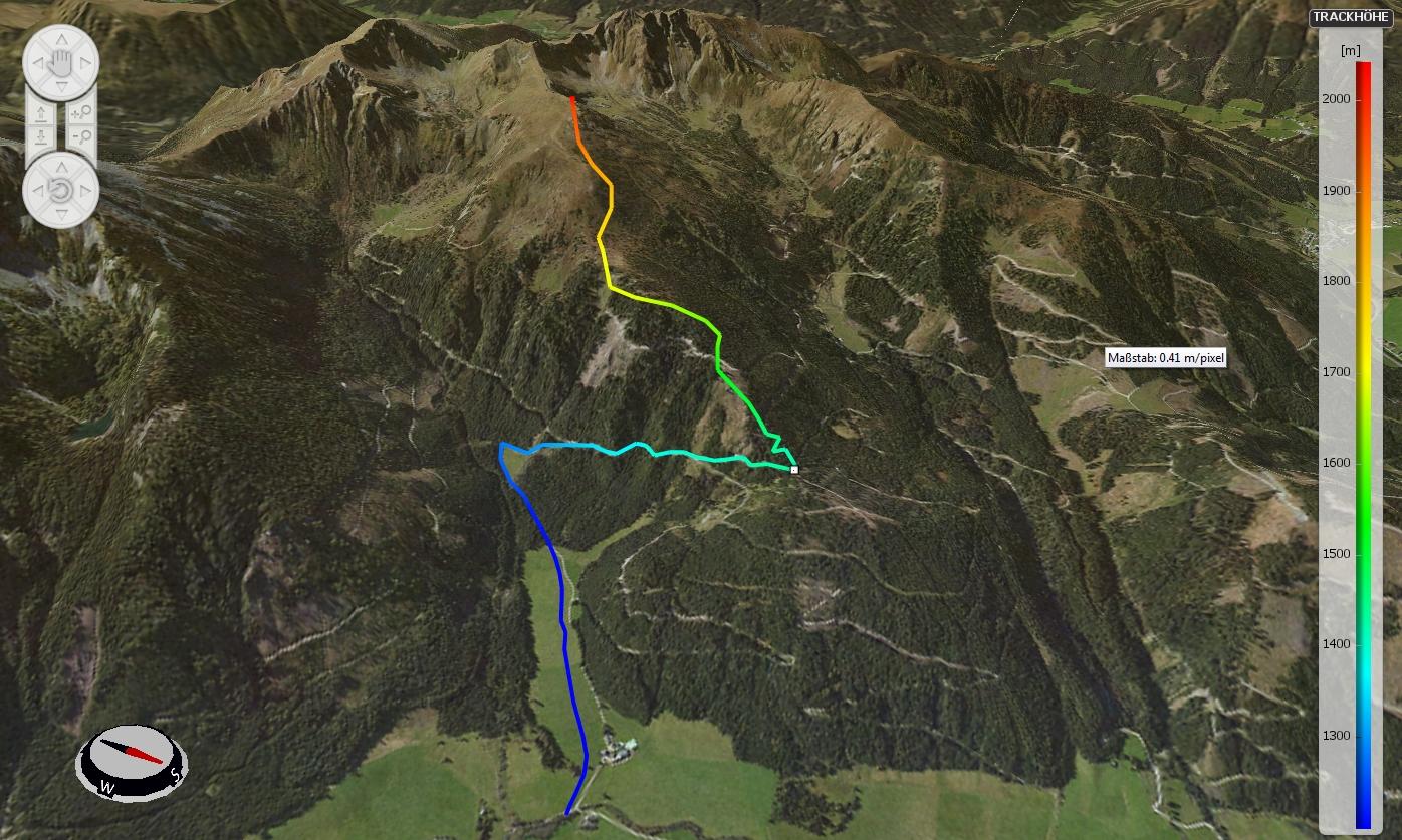 Tour auf den Triebenkogel 2055m