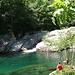 Lagune beim Grotto Pozzasc