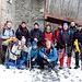 Foto di gruppo al rifugio Dumenza