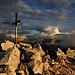 altra prospettiva della vetta del monte Pez