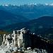 sulla cima del monte Castello,panorama verso nordovest