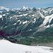 Panorama vom Klein Matterhorn zum Mont Blanc und Grand Combin