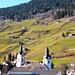 Zurück auf dem Talboden des Toggenburgs - die protestantische und katholische Kirche von Alt St. Johann