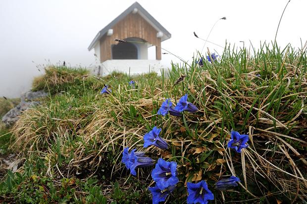 Suworov-Kapelle auf Chinzig Chulm