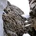 Im Schluss-Kamin zur Rossstocklücke