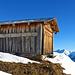die zahlreichen Alphütten laden zum verweilen ein