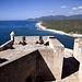Blick vom Castillo de Moro zur Sierra Maestra.