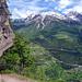 landschaftlich wunderschöner Abstieg nach St.Niklaus