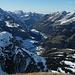 Panorama vom Gipfel aus: Simmental