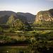 Die Mogotes des Valle de Viñales. Der Mirador am Hotel Los Jazmines ist ein wunderschöner Ort mit einer sagenhaften Aussicht.