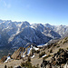 Beautiful panorama from the top of Robinson Peak (about 270 degrees)