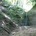 vor diesem Wasserfall besteigt man den Sporn