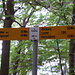 Gipfelwegweiser Hombrig 684m
