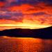 Sonnenuntergang auf den Äusseren Hebriden