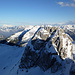 Redertenstock und in der Ferne der Alpstein