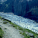 Aufstieg am Gletschereis