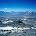 Gipfelpanorama auf fast 7000m