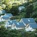 """Le """"cabanas"""" presso il Refugio Los Cuernos"""