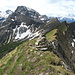 Gipfel des First 2548m und hinten der lohnende Lohner