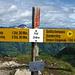 Gipfeltafel First 2548m