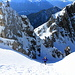 Es geht zu Fuß weiter - Gipfelanstieg zwischen bizarren Felszacken