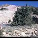Aufstieg zum Lassen Peak, Kalifornien, USA