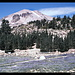 Abstieg vom Lassen Peak, Kalifornien, USA