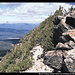Mount Thielsen (hinten links) vom Mount Scott, Crater Lake NP, Oregon, USA