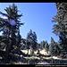oberhalb des Cold Boiling Lake, Lassen Volcanic NP, Kalifornien, USA