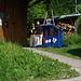 das konzessionslose! Musenalpbähnlein bei der Stn. Niederrickenbach