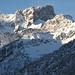 Die eindrucksvolle Nordseite der Östlichen Karwendelspitze