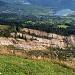 Eindrücklicher Blick vom Gnipen (1533m) auf den Goldauer Felssturz