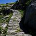 Militär-/Saumweg zum Passo di Lucendro