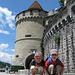 Der erste Turm der Museggmauer und deren Besteiger.