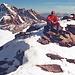 Es ist Samstag, dennoch hab´ ich den Gipfel für mich allein!