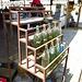 Treibstoff wird hier in Coca-Cola Glasflaschen verkauft