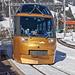 Vorbeifahrender Goldenpass Express bei Gruben