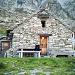 Die unbewartete Hütte auf der Alpe Scaradra di Sopra 2173m.