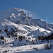 Die Altels, ein anspruchsvoller Skiberg. Jetzt liegt aber zu wenig Schnee.