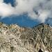 Links knapp nicht mehr im Bild, der Sattel und rechts die Vernokhörner 3043m.