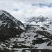 Il vallone dove passa l'itinerario al Tresero