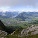 Panorama from the Haggenspitz and our next goal in sight on the left