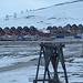 Longyearbyen - recht modern, mit Überresten des Kohlebergbaus (Vordergrund)