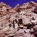 In arrampicata sulla Cresta del soldato.