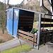 diese kleine Kabine bringt uns hinauf nach Hinter Rugisbalm. Dort steigen wir um in eine etwas kleinere Kabine hinauf zum Eggendössli