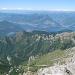 Il lago di Como dalla vetta della Grigna settentrionale
