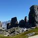 il gruppo delle 5 Torri,da sx a dx,,,Torre Inglese,Torri 4° Bassa e Alta,Torre Romana e Torre Barancio,Torre Grande d'Averau