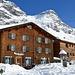 ...und glücklicherweise dauert es keine weiteren 5 min bis das Berghotel Sulzfluh erreicht ist.