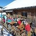 Ski-Clubhütte auf der Sternenegg mit super Bedienung!!!