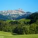 Impressionen nördliche Vorkette: Blick vom Appenzellervorderland auf den Säntis